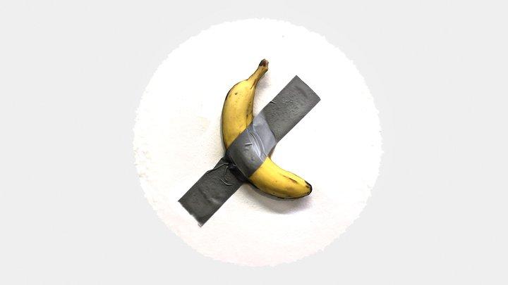 3D Banana Art that won't cost you $120K 3D Model