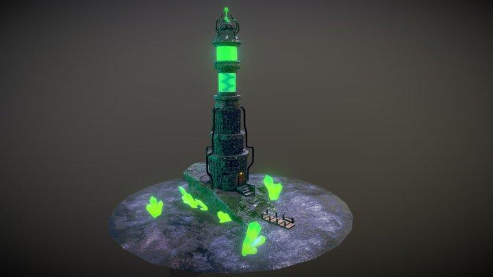 Necromancers Lighthouse 3D Model