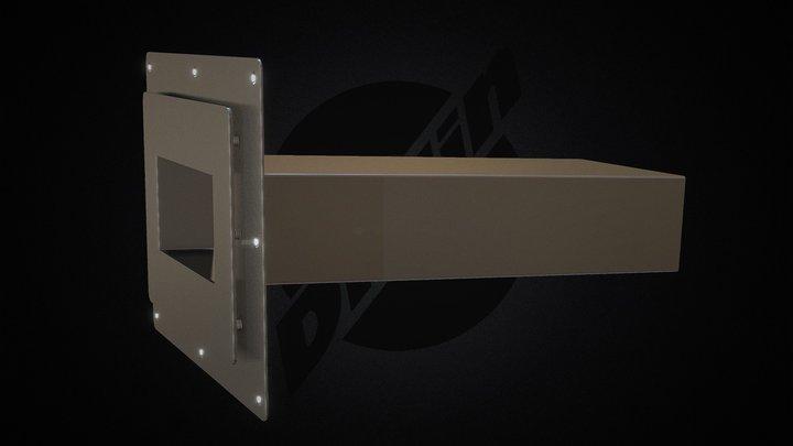 DP Plus SS 100x200 Rectangle 3D Model