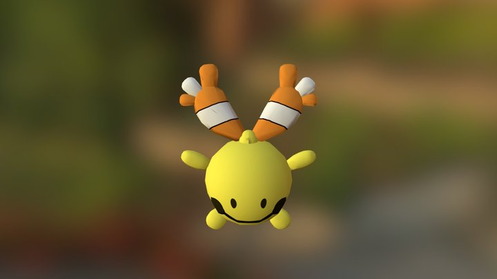 Chingling (Shiny) 3D Model
