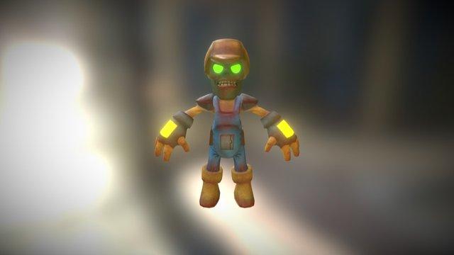Zombie - Engineering Horde 3D Model