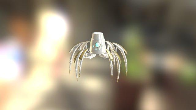 Jack the Spider 3D Model