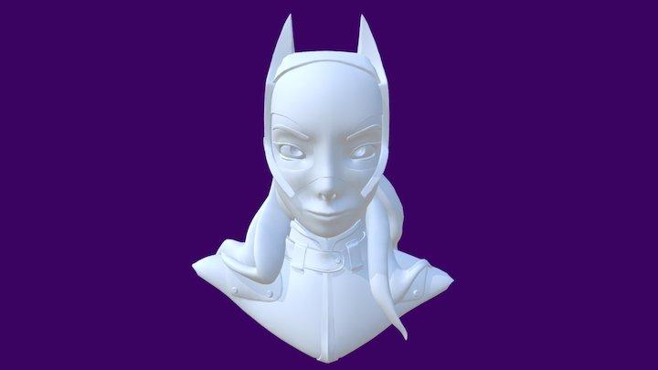 BATGIRL 3D Model
