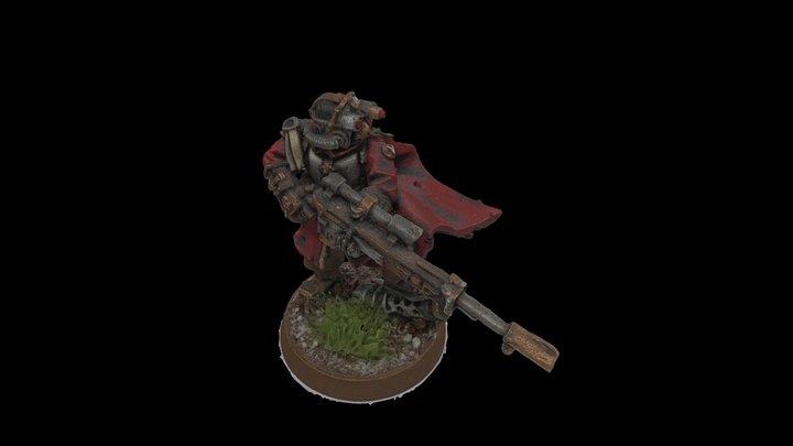 Vostroyan Sniper 3D Model