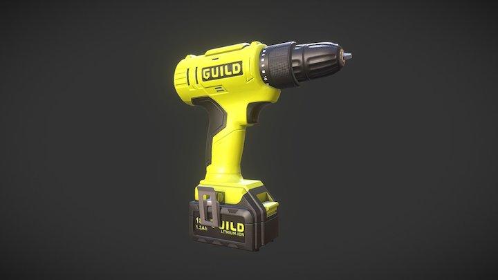 Guild screw 3D Model