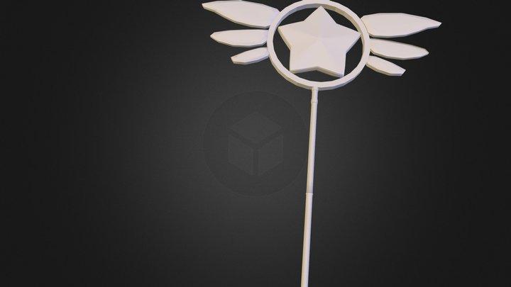 Magical Stick Ruby (WIP) 3D Model
