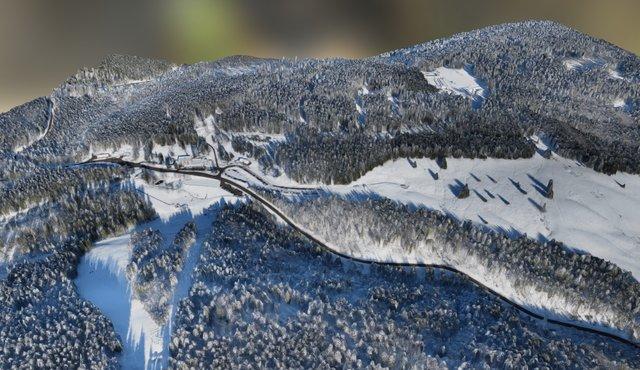 Notschrei Winterszene (Januar 2015) by WWL 3D Model