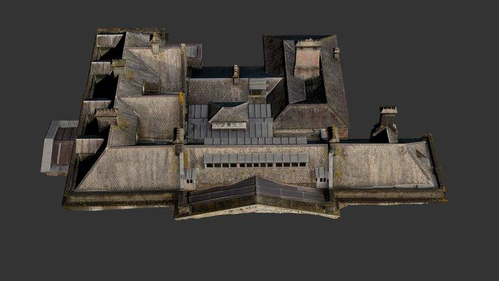Roof-one-txt 3D Model