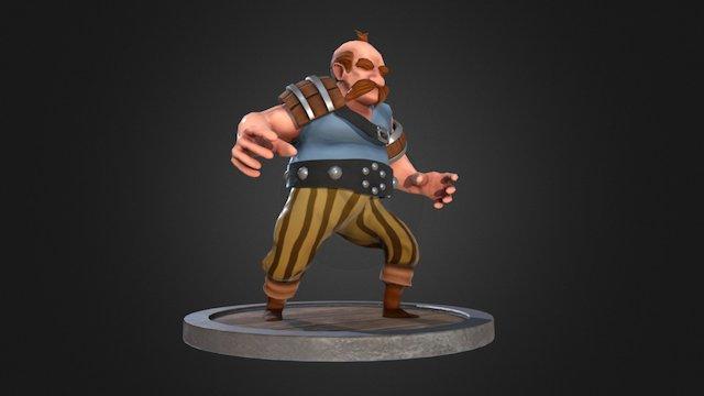 Tavernkeeper 3D Model