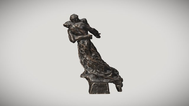 La Valse, Camille Claudel 3D Model