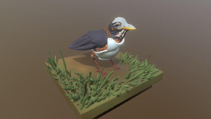 Armored Robin 3D Model