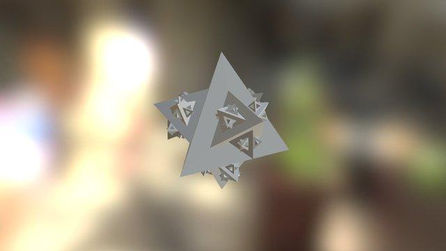 Koch's snowflake (fractal) 3D 3D Model