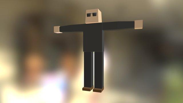 WP_Bodyguard_Standing 3D Model
