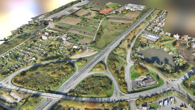 Landesgartenschaugelände Neuenburg 2014 by WWL 3D Model