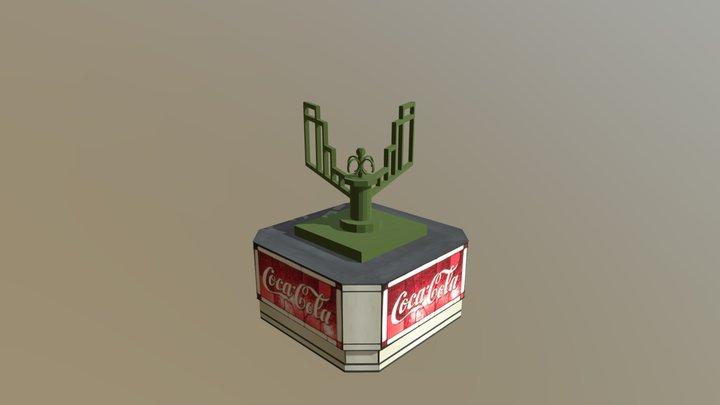 Refreshment Corner Coca-Cola Sign