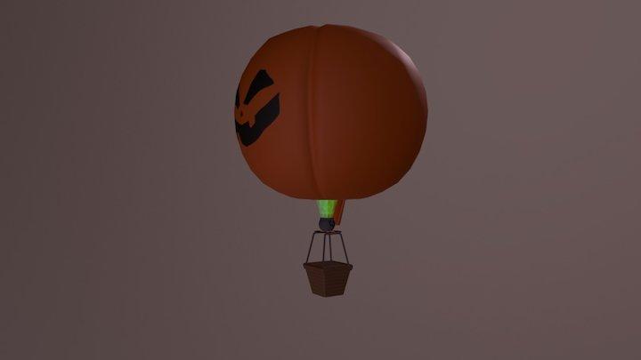 Balão Abóbora - Mctech Goiânia Contest 2017_TL 3D Model