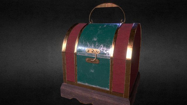 Vintage little Box 3D Model