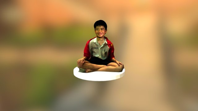st andrews junior school student 3D Model