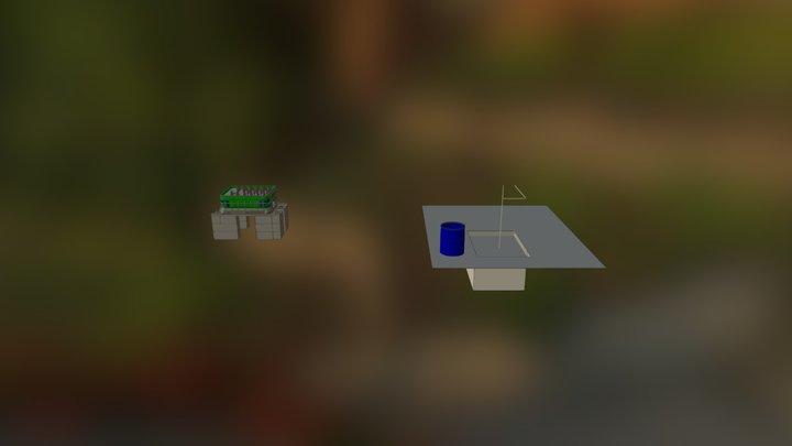 Aquaponics 3D Model