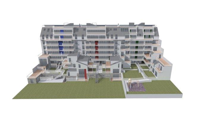 An Der Oberen Alten Donau 15-21 3D Model