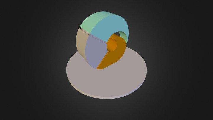 Ysgol Y Gogarth Shell 3D Model