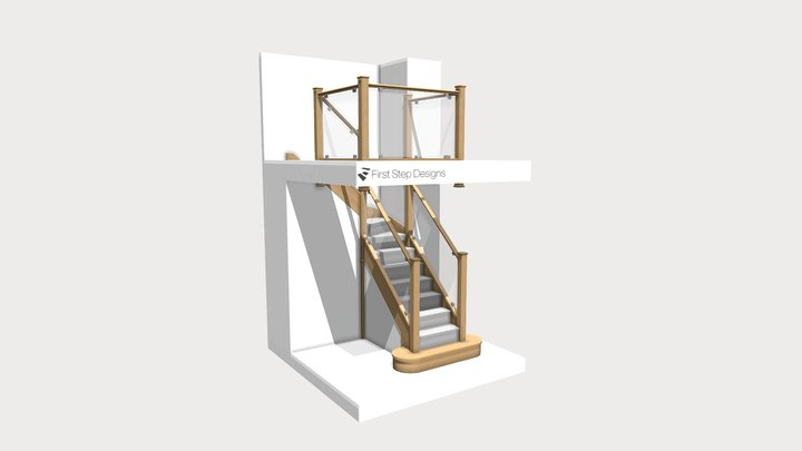 P Verster Staircase Design 3D Model
