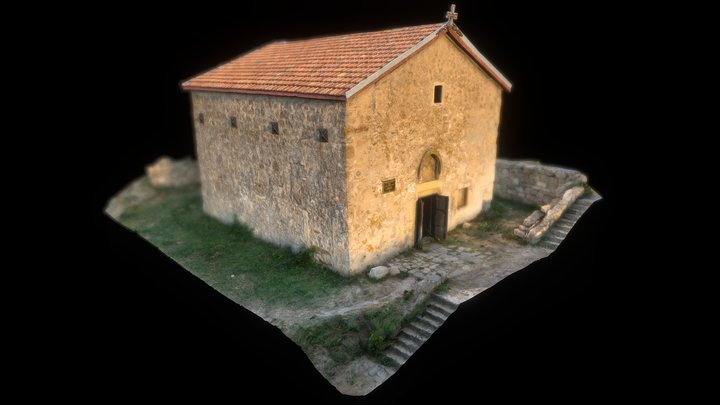 The Church of Dmitriy Solunskii 3D Model
