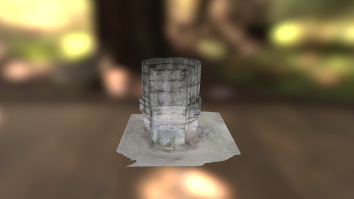 Búnker Guerra Civil (Madrid) 3D Model