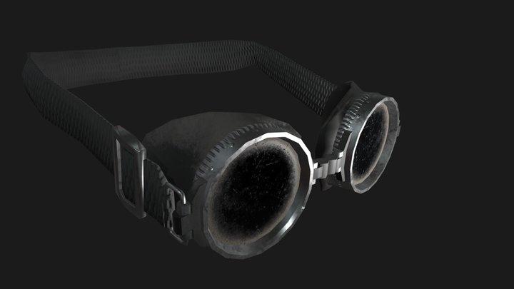 glasses mixamo 1.3 custom 3D Model