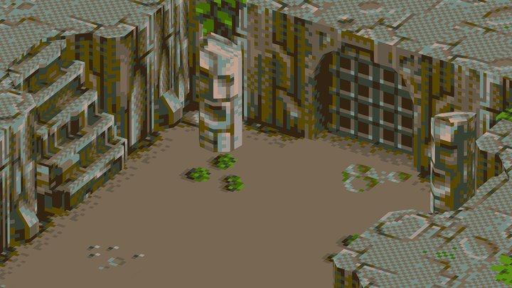 Chaos Engine Environment (fan art) 3D Model