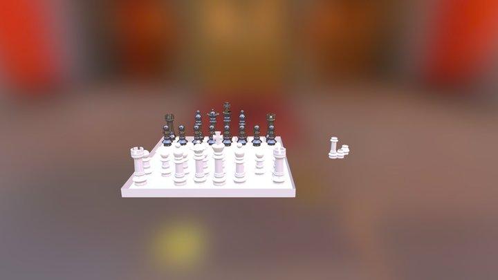T. Ajedrez 3D Model