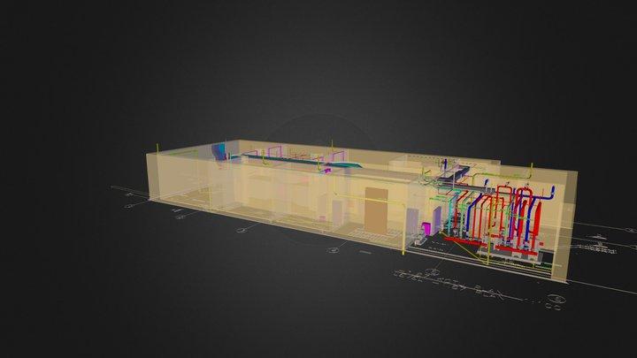 3D-İSTASYON-01 +28.50(123.5) KOTU 3D Model