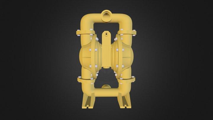 Diaphragm Pump 3D Model