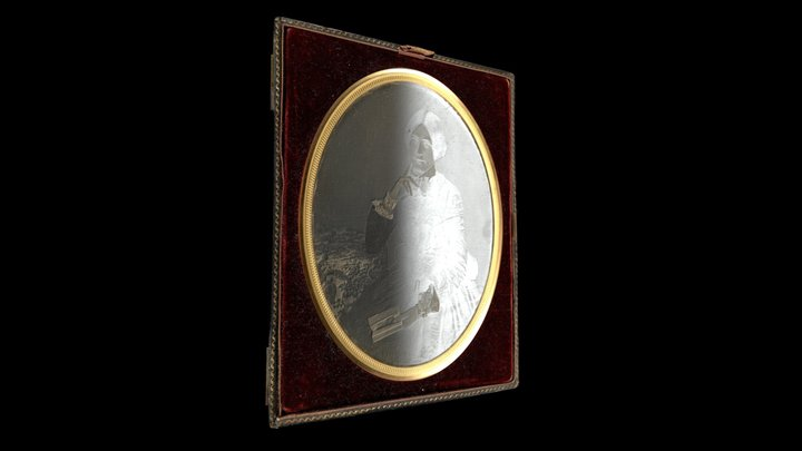 Daguerreotype of Catherine Hannah Dunkerley (2) 3D Model