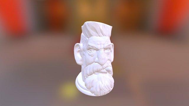 Zombie Hunter - Head 3D Model