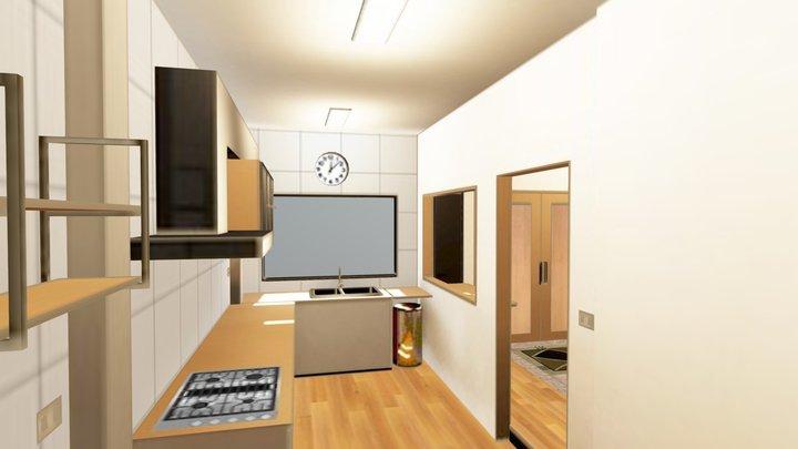 My_kitchen_ 3D Model