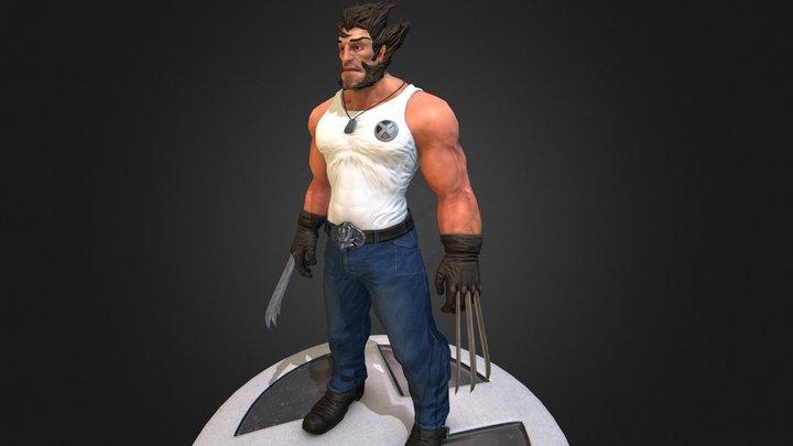 Wolverine 3D Model
