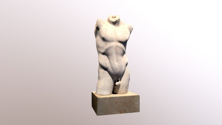 Torso of an Athlete, Altes Museum, Berlin 3D Model