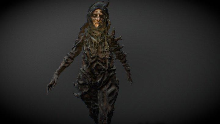 Female Villager creature- Game Asset / SARKA 3D Model