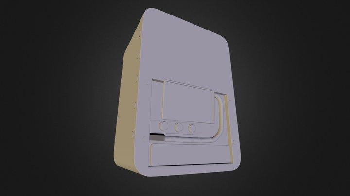Floor Computer 2 3D Model