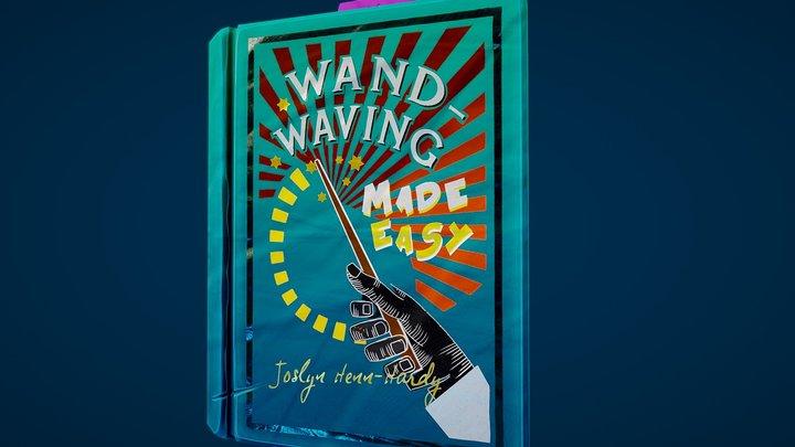 Stylised Spellbook - 'Wand-waving Made Easy' 3D Model