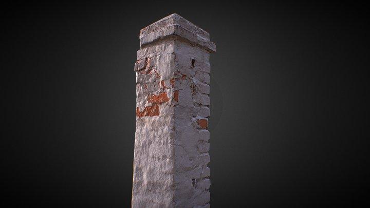 Old Column 3D Model