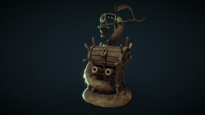 marine chest hw3.1 3D Model