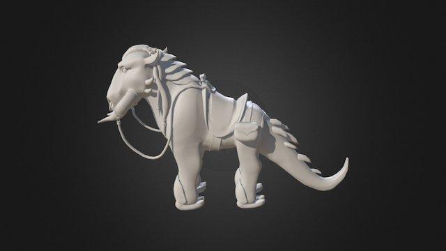 AlienWIP 3D Model