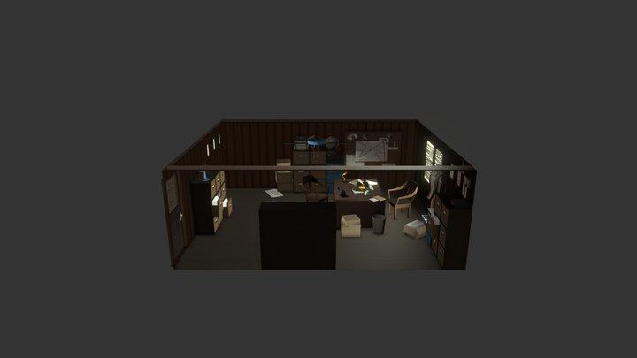 Detectives' office 3D Model
