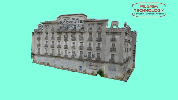 hotel de la Duchesse Anne 3D Model