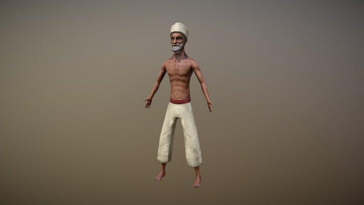 Faquir 3D Model