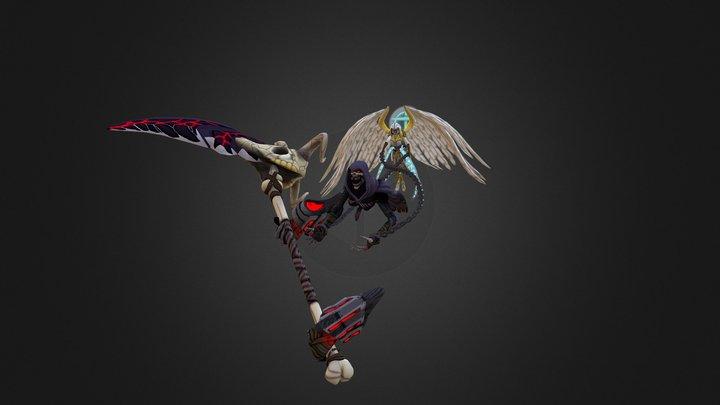 Banished Death 3D Model