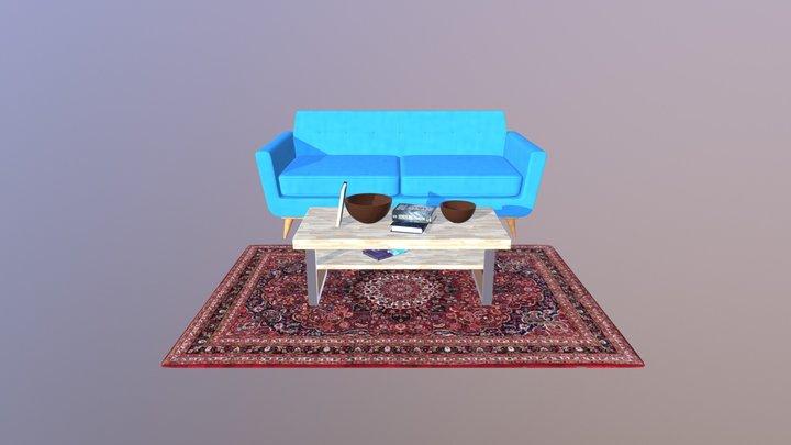 Living room sample 3D Model