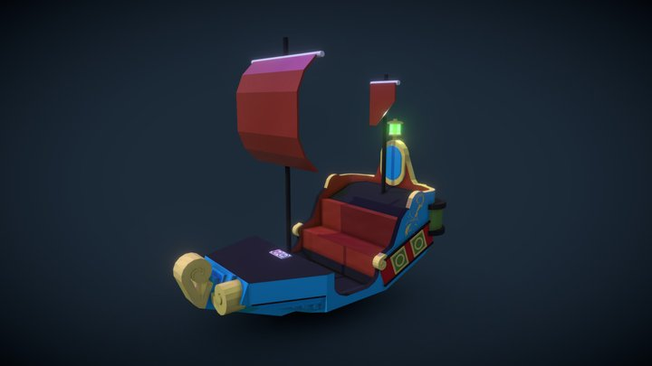 WDW Peter Pan's Flight Ship